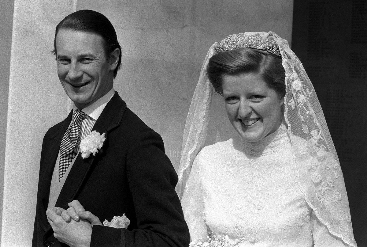 Lady Jane Spencer marries Robert Fellowes, 1978