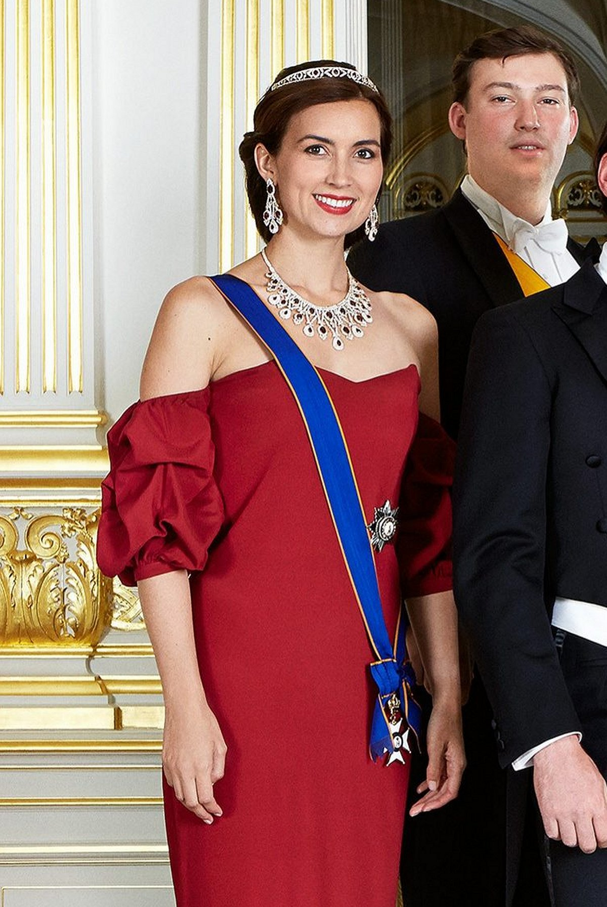Princess Claire of Luxembourg attends the National Day Gala, June 2015