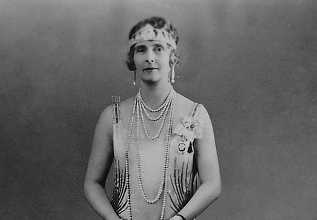 Princess Alice, Countess of Athlone in a portrait taken during the coronation celebrations of 1937