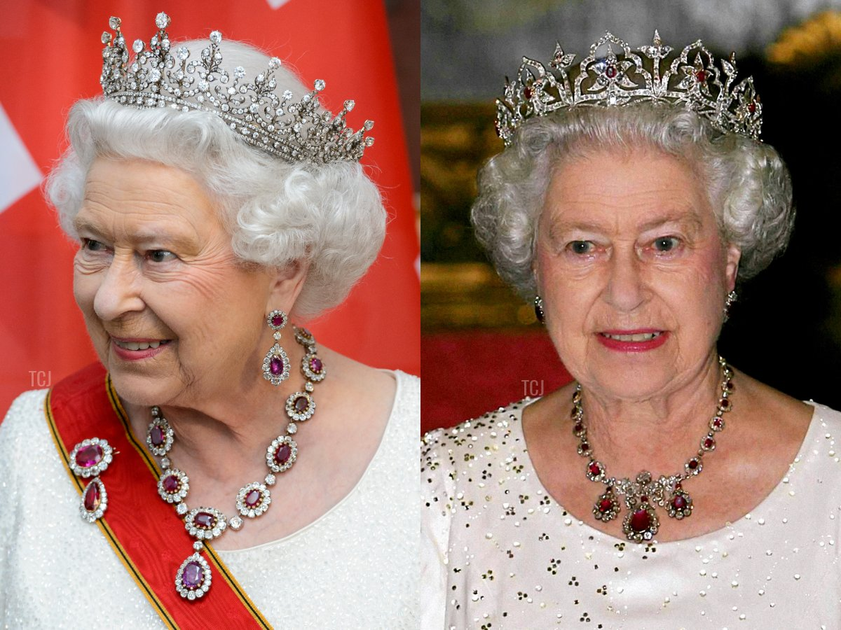 The Crown Ruby Necklace, The Baring Ruby Necklace