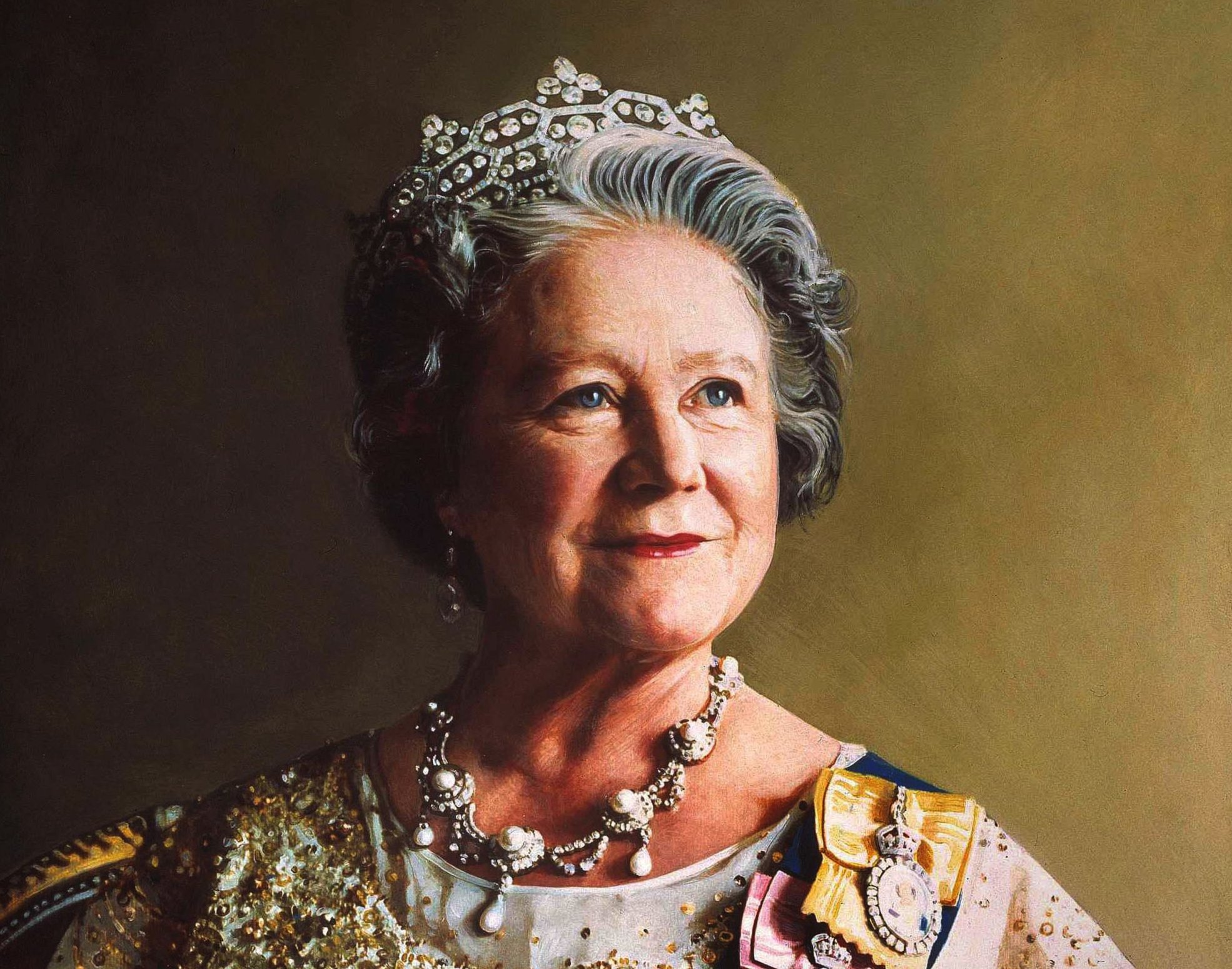 Her Majesty Queen Elizabeth, The Queen Mother by Richard Stone, 1986