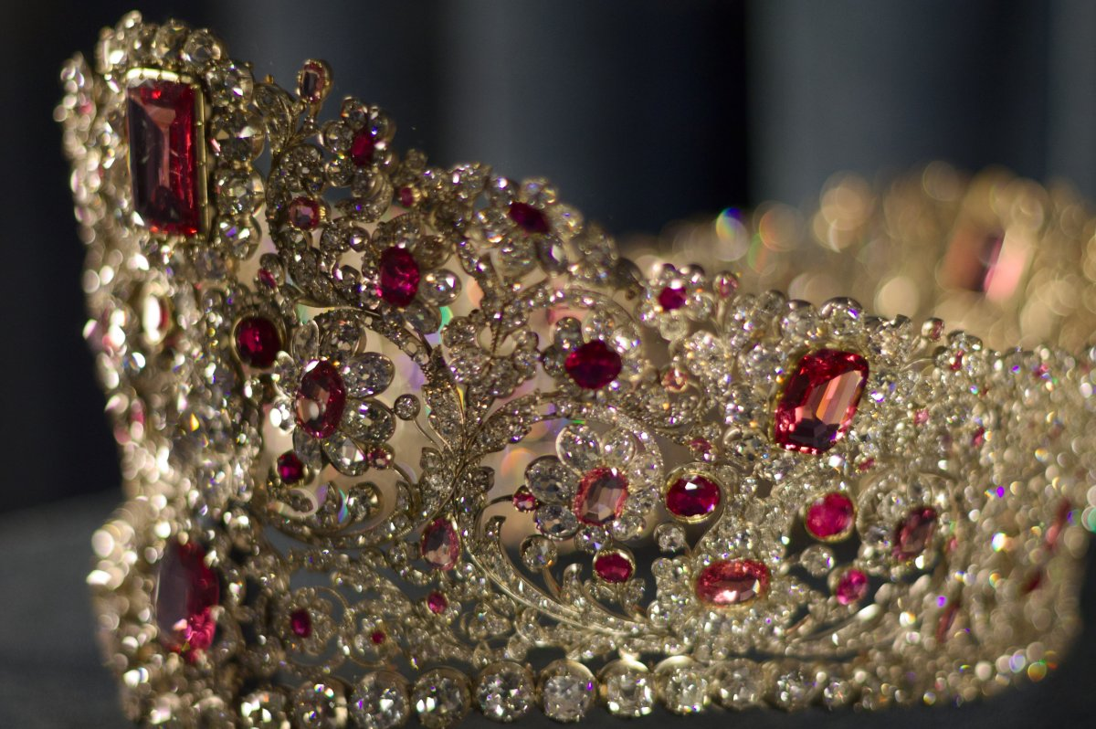 The Bavarian Ruby and Spinel Tiara
