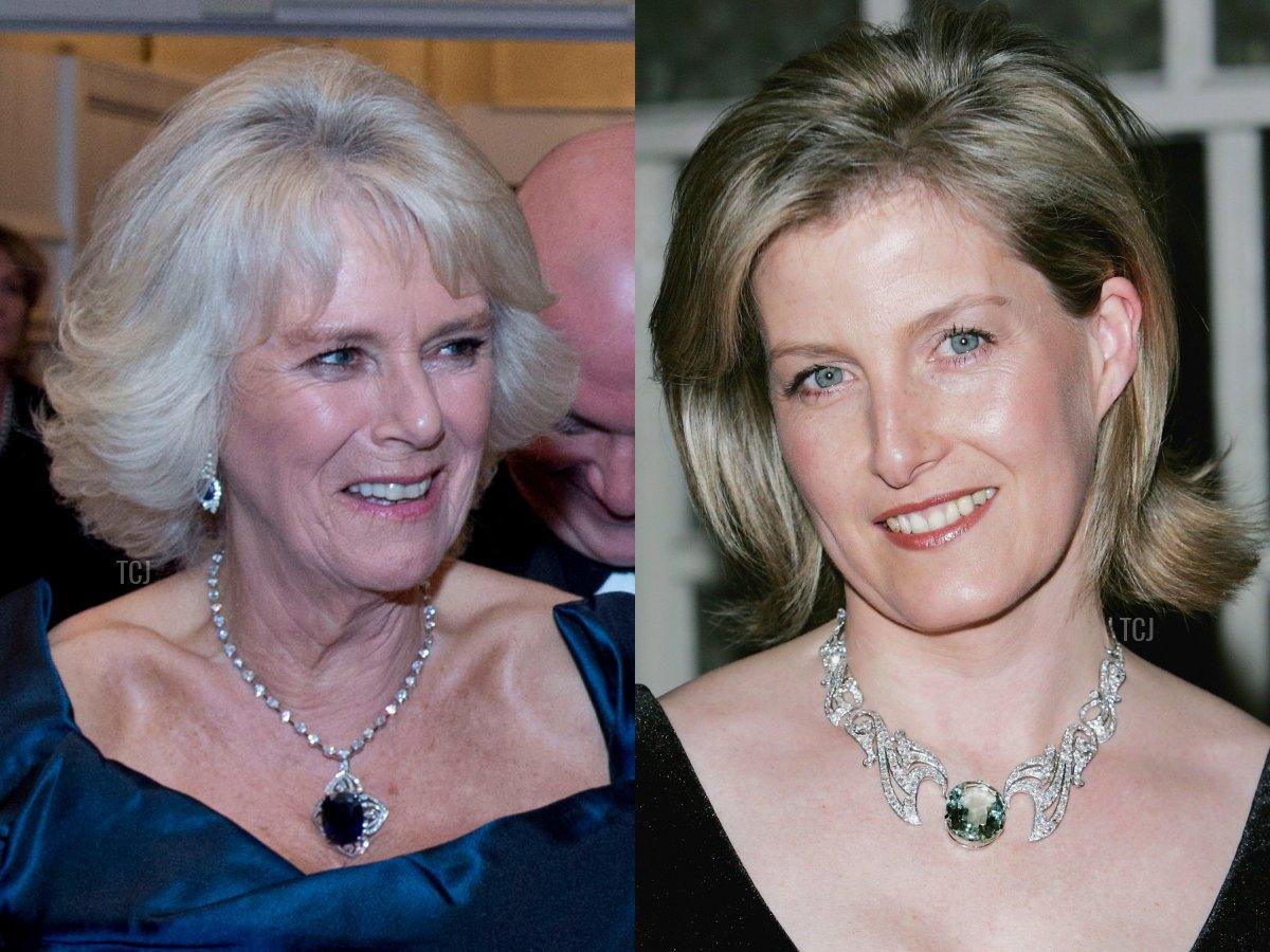 Camilla's Sapphire Necklace, The Wessex Aquamarine Necklace