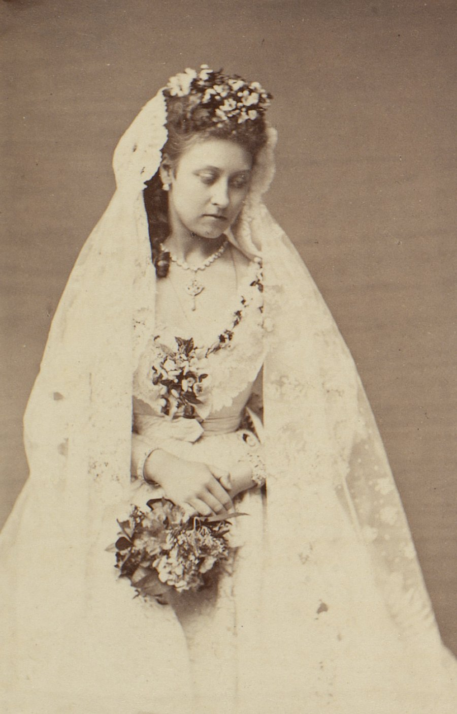 Princess Louise on her wedding day, 1871