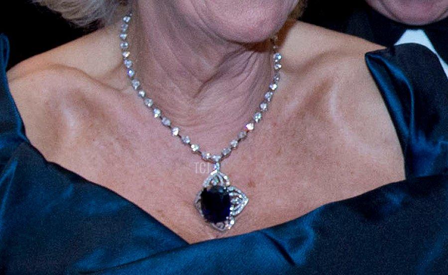 Camilla's Sapphire Necklace