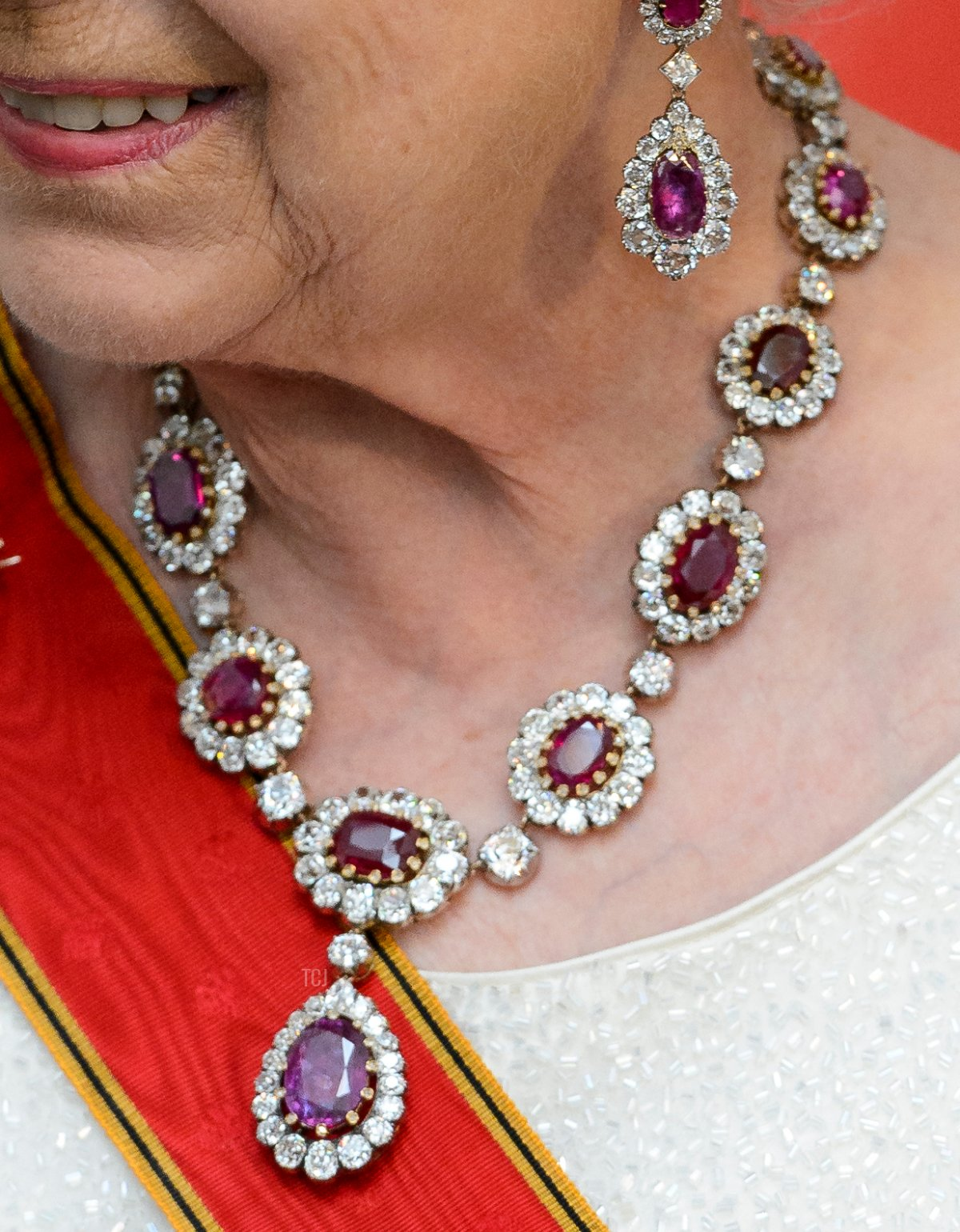 The Crown Ruby Necklace