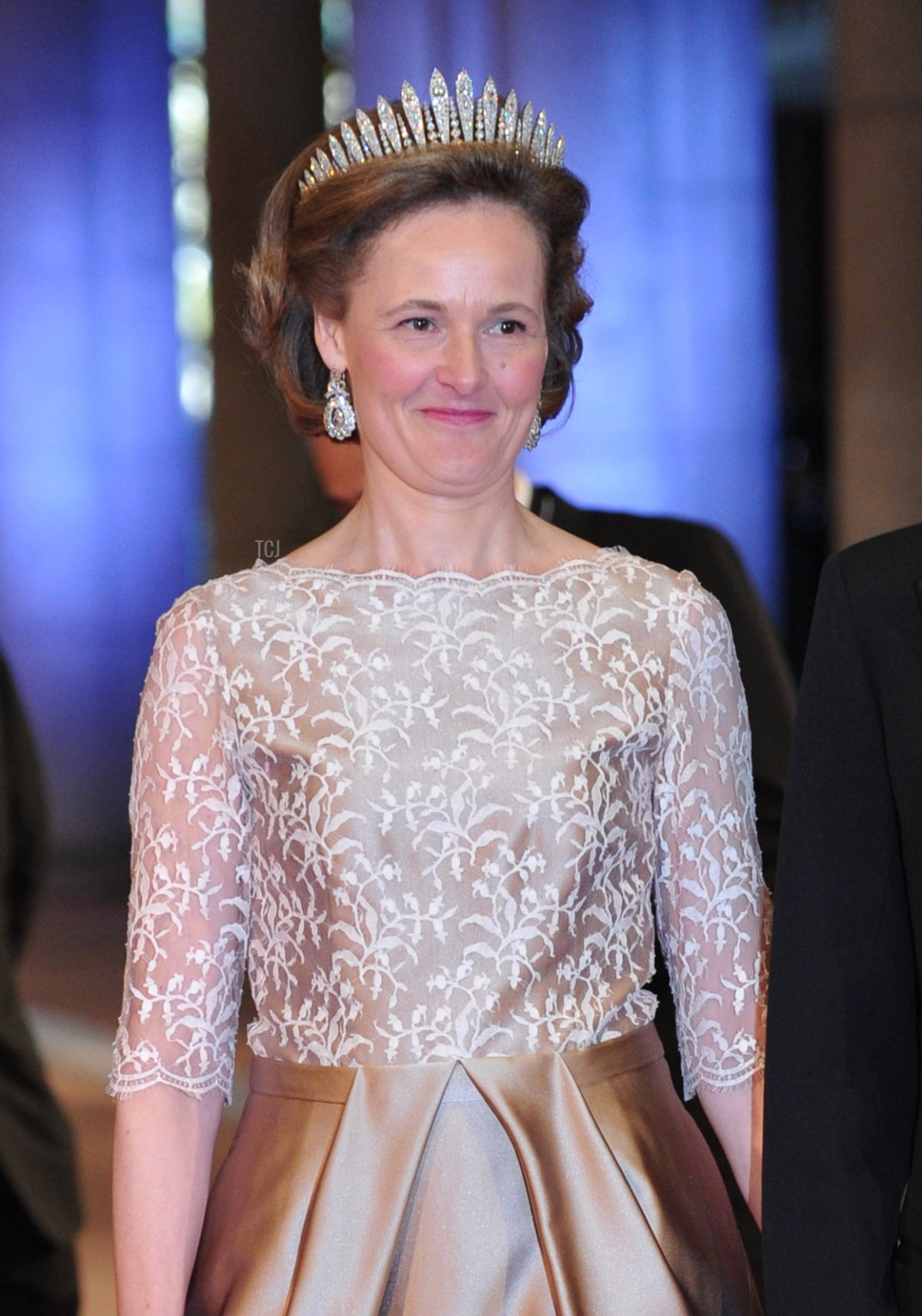 Princess Sophie of Liechtenstein and Hereditary Prince Alois of Liechtenstein attend a dinner hosted by Queen Beatrix of The Netherlands ahead of her abdication in favour of Crown Prince Willem Alexander at Rijksmuseum on April 29, 2013 in Amsterdam, Netherlands