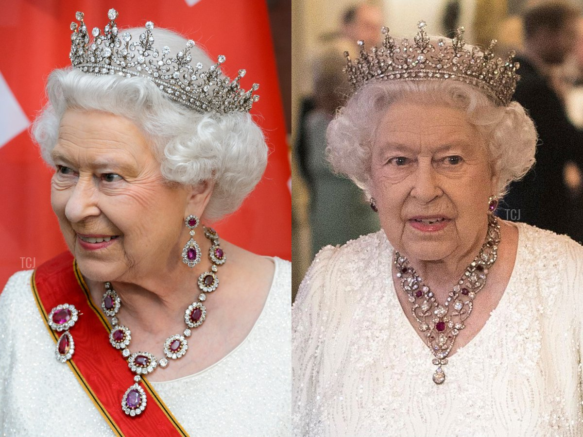 The Crown Ruby Necklace and The Greville Ruby Necklace