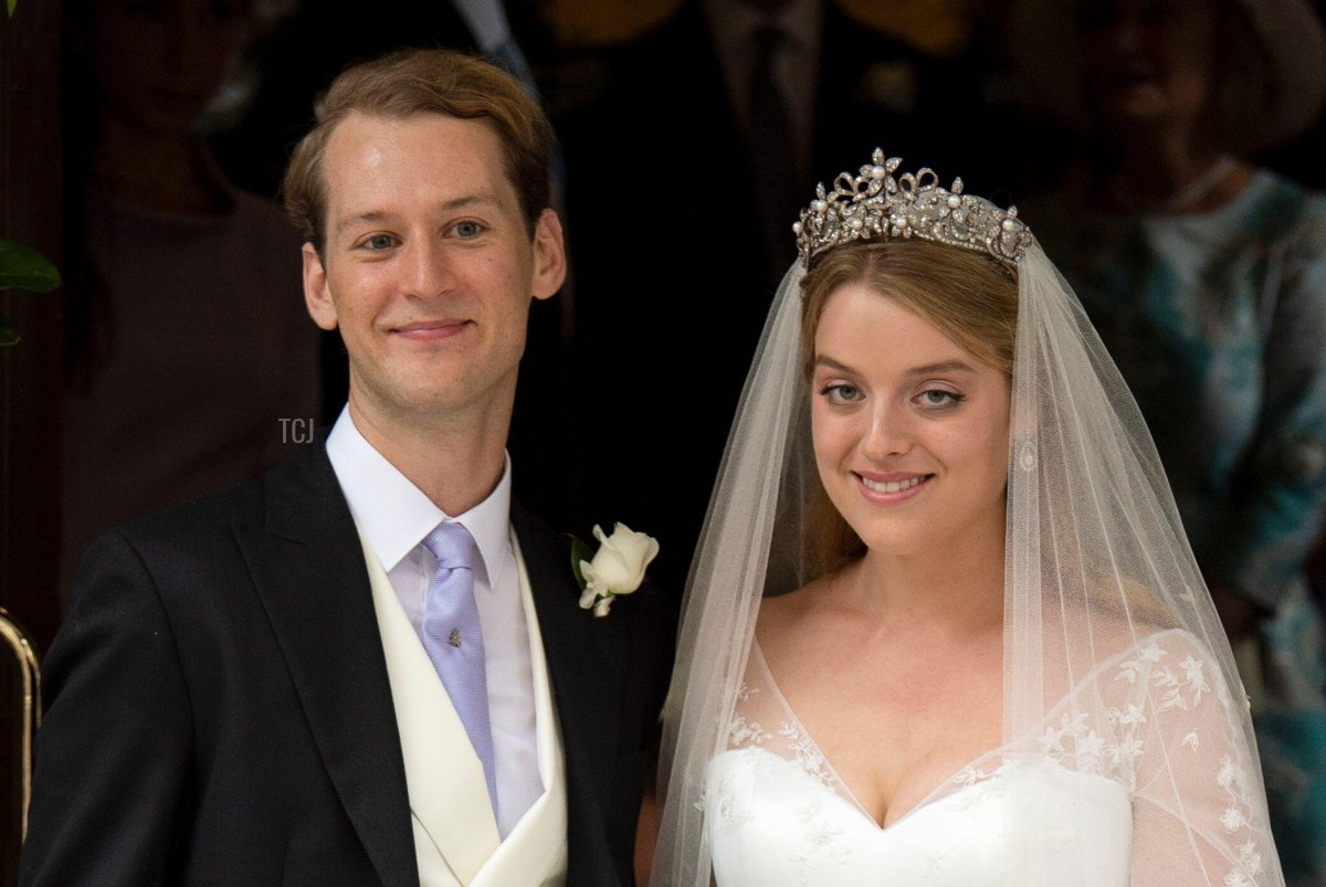 September 10, 2021, London, UK The Wedding of Flora Ogilvy and Timothy Vesterberg at St George's Chapel, Piccadilly, London