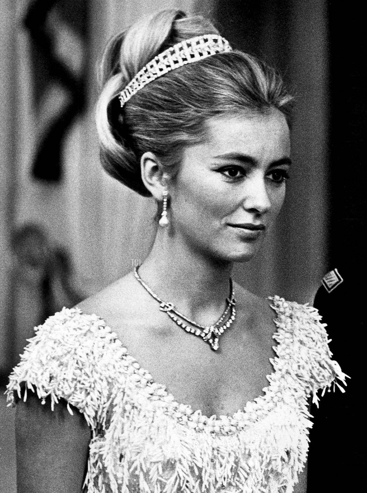 Prince Albert and Princess Paola of Belgium, August 1968