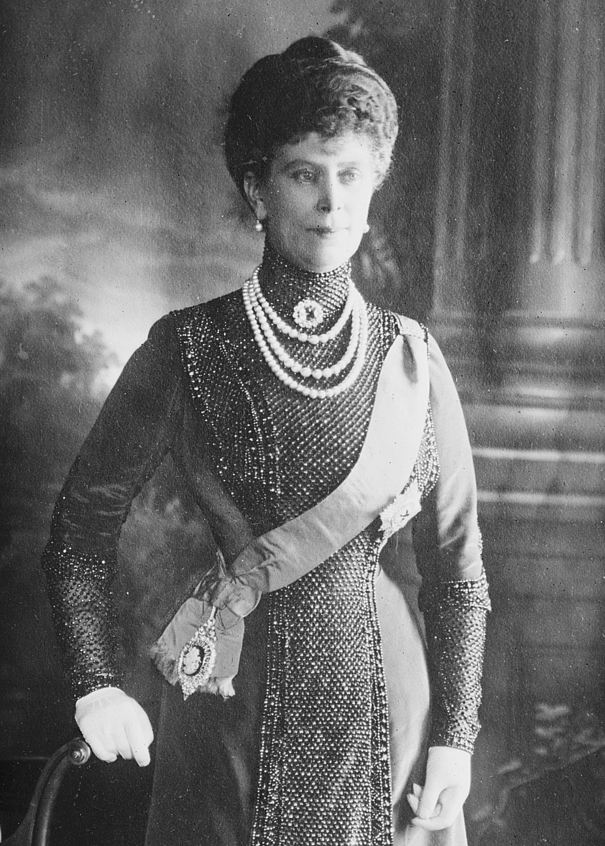 Queen Mary of the United Kingdom, July 1911