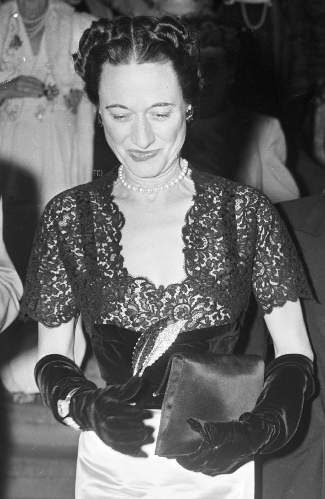 Duke and Duchess of Windsor at the Paramount Theater in Palm Beach, FL, 1948