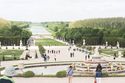 At the Versailles Gardens