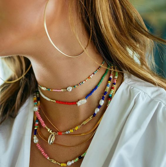 Necklace layering tips