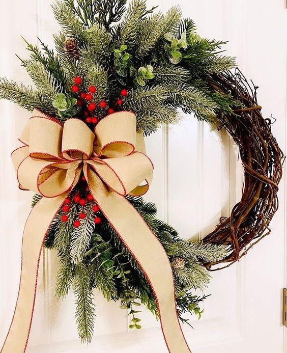 Χριστουγεννιάτικο στεφάνι φανταστικές ιδέες διακόσμησης - The Cover