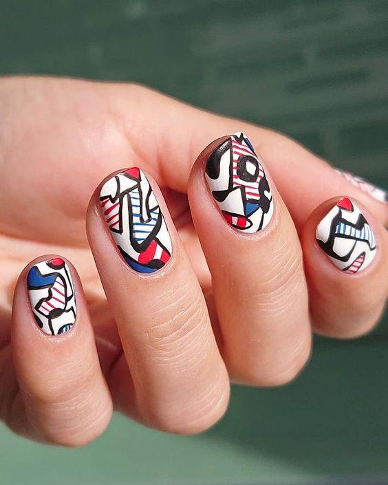 Καλλιτεχνικά νύχια: 8 φανταστικά μανικιούρ - The Cover