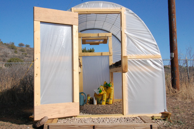 Three Simple Steps to Building a Greenhouse