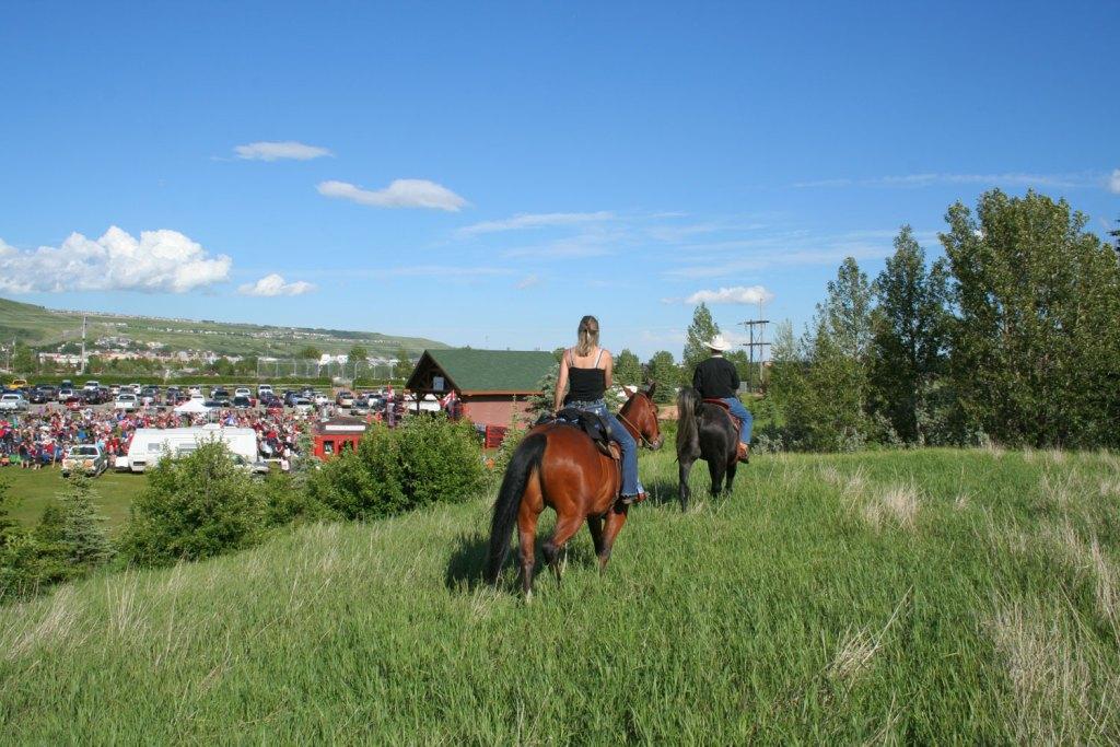 The Cowboy Trail in Cochrane