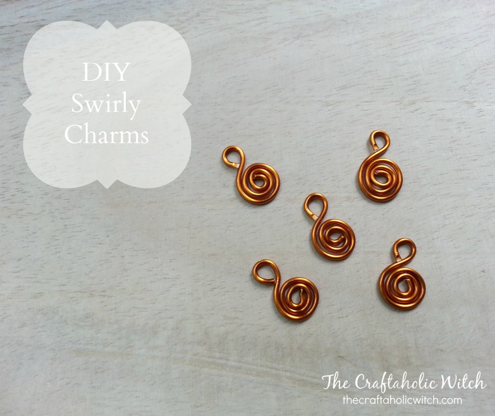 Create Swirly Wire Charms