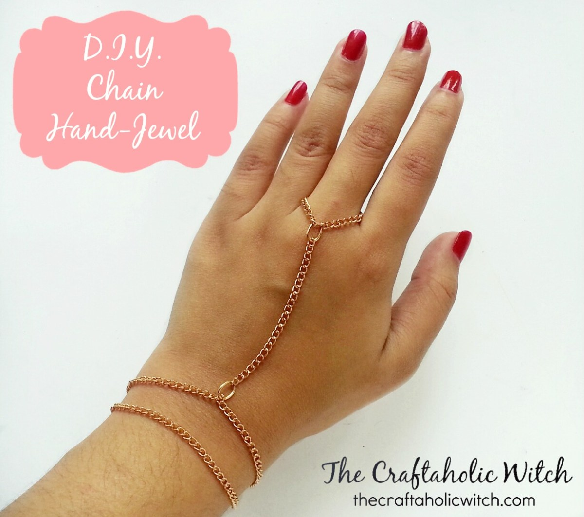 Create Stunning Chain Hand Jewel
