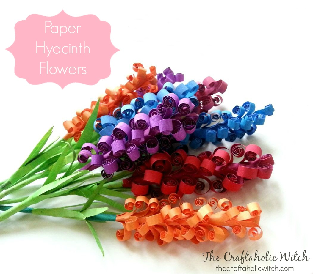 Create Paper Hyacinth Flowers