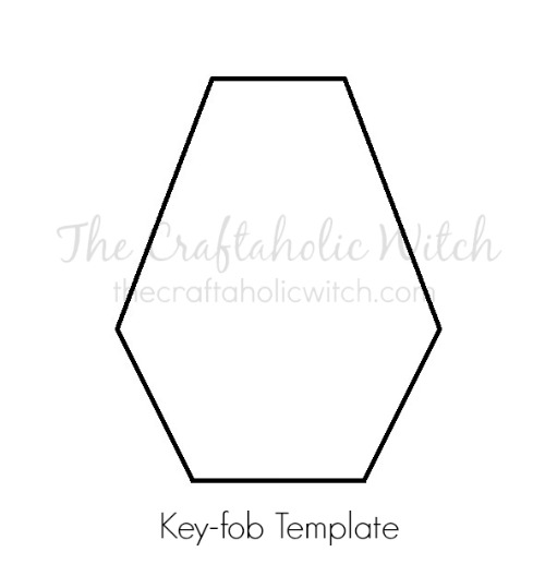 The Craftaholic WitchCreate Simple Leather Key-fob