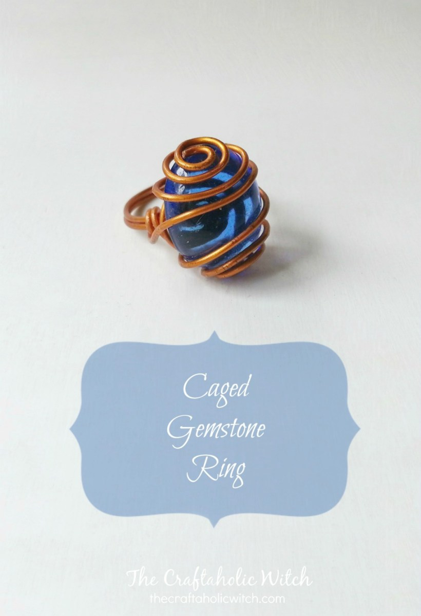 Create Caged Gemstone Ring