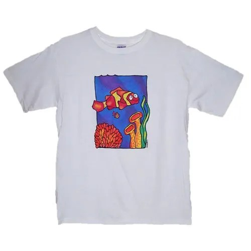 Colourful Clownfish Kids T-Shirt