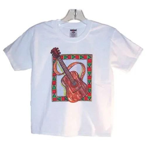 Kids Guitar T-Shirt