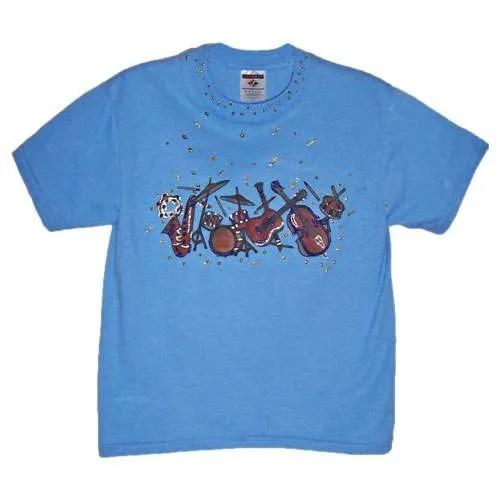 Kids Music T Shirt