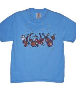 Kids Music T Shirt