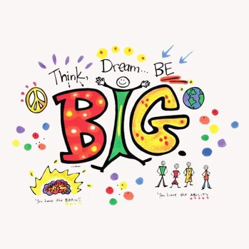 Dream Big Pillowcase Painting Kit