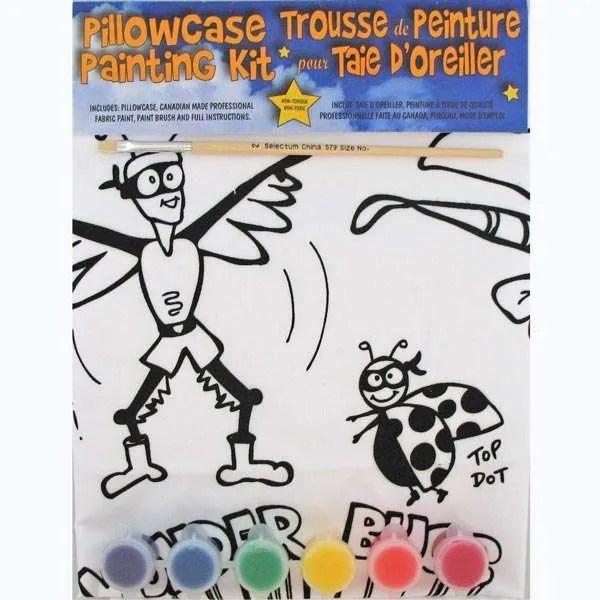 Wonder Bugs Pillowcase Painting Kit
