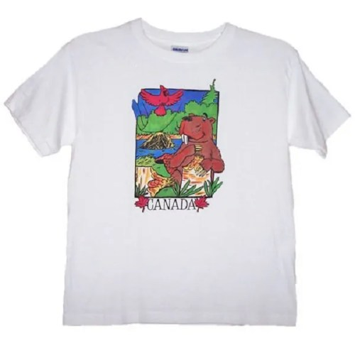 Canadian Beaver Kids T-Shirt