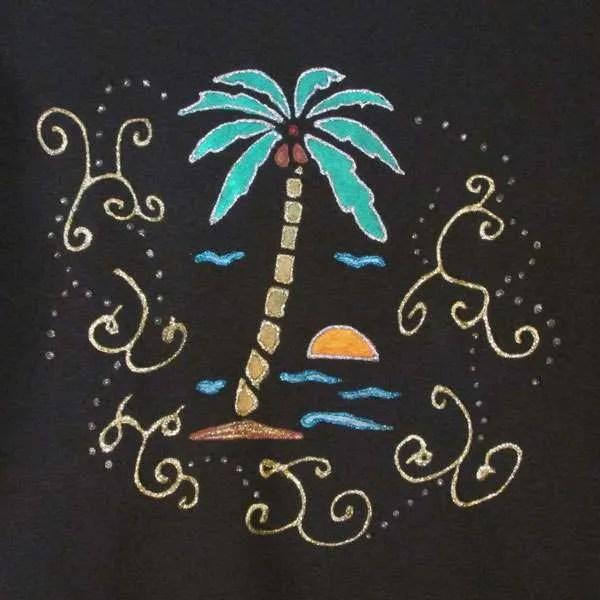 Creative Stenciling - Coconut Tree