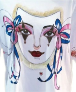Mask Close up of T Shirt
