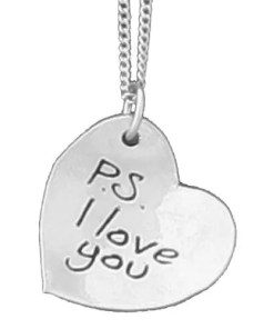 P.S.-I-love-you pendant