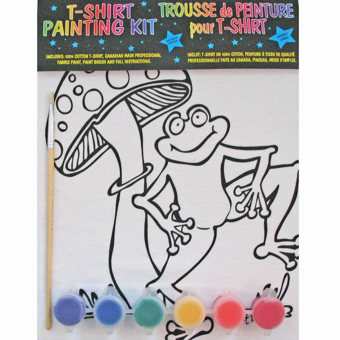 Frog T Shirt Painting Kit