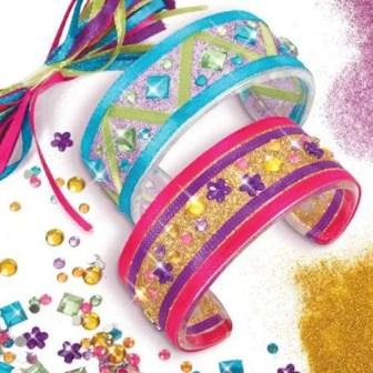 Style Me Up Kids Glitter-Bangles Kit