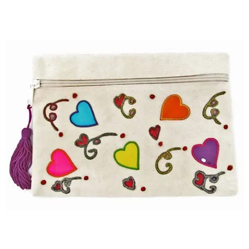 Young Hearts Cosmetic Bag