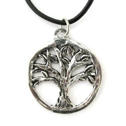 Circle Tree Necklace
