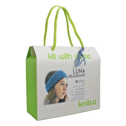 -Luna Headband Knitting Box