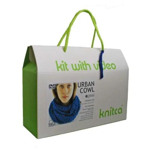 Urban Cowl Knitting Kit
