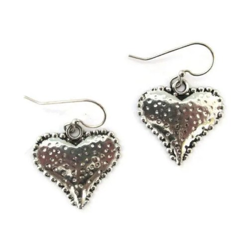 Strawberry Heart Earrings