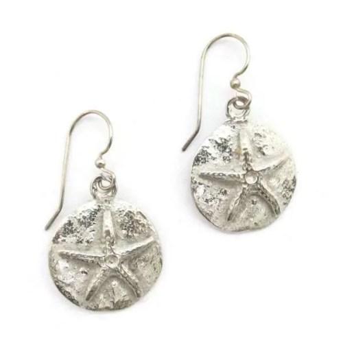 Sandy Starfish Earrings