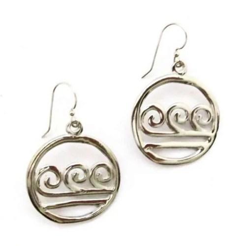 Woodstock Wave Earrings