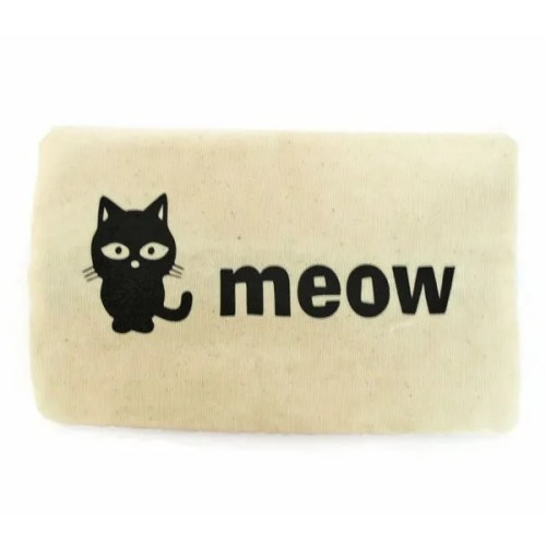 Cats Meow Cosmetic Bag