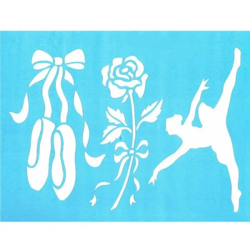 Dance Recital Stencil