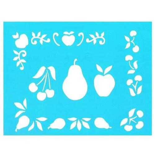 Fruit Medley Stencil