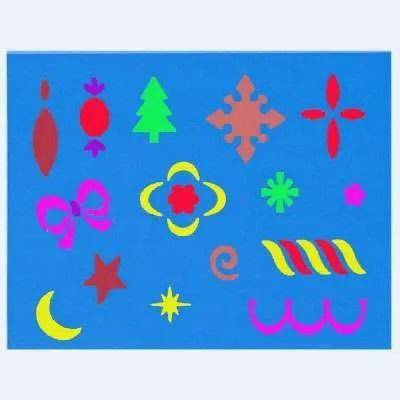 Merry-Little-Christmas stencil